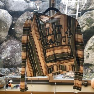 Alta, Utah Vintage Poncho